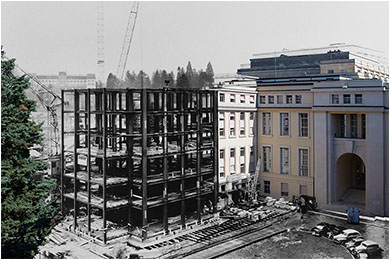 Palais des Nations under construction - 1932
